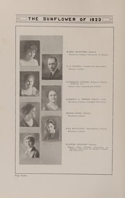 Page 16, 1923 Edition, Topeka High School - Sunflower Yearbook (Topeka, KS) online yearbook collection