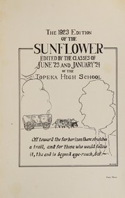 Page 5, 1923 Edition, Topeka High School - Sunflower Yearbook (Topeka, KS) online yearbook collection