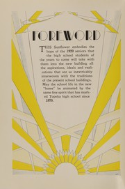 Page 6, 1929 Edition, Topeka High School - Sunflower Yearbook (Topeka, KS) online yearbook collection