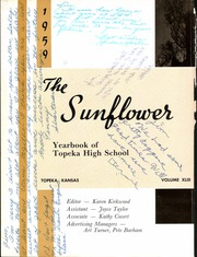 Page 8, 1959 Edition, Topeka High School - Sunflower Yearbook (Topeka, KS) online yearbook collection