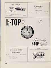 Page 292, 1961 Edition, Topeka High School - Sunflower Yearbook (Topeka, KS) online yearbook collection