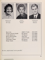 Page 295, 1961 Edition, Topeka High School - Sunflower Yearbook (Topeka, KS) online yearbook collection