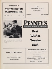 Page 305, 1961 Edition, Topeka High School - Sunflower Yearbook (Topeka, KS) online yearbook collection