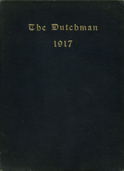 1917 Edition, Collegiate School - Dutchman Yearbook (New York, NY)