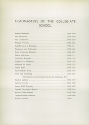 Page 12, 1934 Edition, Collegiate School - Dutchman Yearbook (New York, NY) online yearbook collection