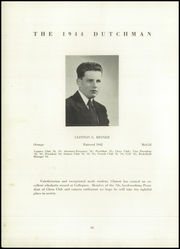 Page 12, 1944 Edition, Collegiate School - Dutchman Yearbook (New York, NY) online yearbook collection