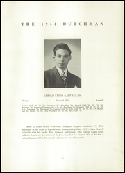 Page 13, 1944 Edition, Collegiate School - Dutchman Yearbook (New York, NY) online yearbook collection