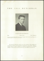 Page 15, 1944 Edition, Collegiate School - Dutchman Yearbook (New York, NY) online yearbook collection