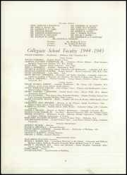Page 6, 1944 Edition, Collegiate School - Dutchman Yearbook (New York, NY) online yearbook collection