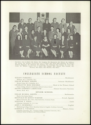 Page 11, 1948 Edition, Collegiate School - Dutchman Yearbook (New York, NY) online yearbook collection