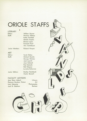 Page 11, 1953 Edition, Evander Childs High School - Oriole Yearbook (Bronx, NY) online yearbook collection
