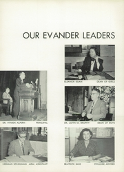 Page 12, 1953 Edition, Evander Childs High School - Oriole Yearbook (Bronx, NY) online yearbook collection