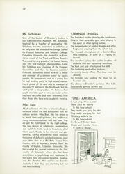 Page 14, 1953 Edition, Evander Childs High School - Oriole Yearbook (Bronx, NY) online yearbook collection