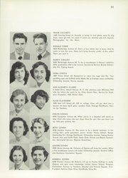 Page 55, 1953 Edition, Evander Childs High School - Oriole Yearbook (Bronx, NY) online yearbook collection