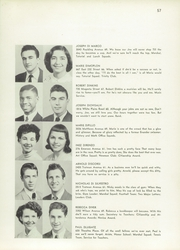 Page 61, 1953 Edition, Evander Childs High School - Oriole Yearbook (Bronx, NY) online yearbook collection