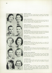 Page 62, 1953 Edition, Evander Childs High School - Oriole Yearbook (Bronx, NY) online yearbook collection