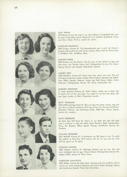 Page 68, 1953 Edition, Evander Childs High School - Oriole Yearbook (Bronx, NY) online yearbook collection
