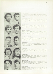 Page 69, 1953 Edition, Evander Childs High School - Oriole Yearbook (Bronx, NY) online yearbook collection