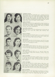 Page 71, 1953 Edition, Evander Childs High School - Oriole Yearbook (Bronx, NY) online yearbook collection
