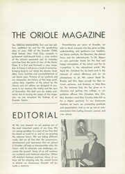Page 9, 1953 Edition, Evander Childs High School - Oriole Yearbook (Bronx, NY) online yearbook collection