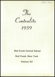 Page 5, 1959 Edition, Red Creek Central High School - Centralite Yearbook (Red Creek, NY) online yearbook collection