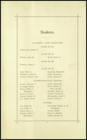Page 8, 1900 Edition, Briarcliff High School - Bruin Yearbook (Briarcliff Manor, NY) online yearbook collection