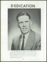 Page 6, 1957 Edition, Briarcliff High School - Bruin Yearbook (Briarcliff Manor, NY) online yearbook collection