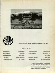 Page 7, 1965 Edition, Briarcliff High School - Bruin Yearbook (Briarcliff Manor, NY) online yearbook collection