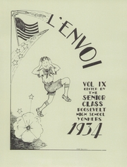 Page 7, 1934 Edition, Roosevelt High School - L envoi Yearbook (Yonkers, NY) online yearbook collection