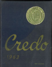 1963 Edition, Notre Dame High School - Credo Yearbook (Elmira, NY)