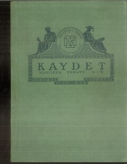 1926 Edition, St Thomas Military Academy - Kaydet Yearbook (Mendota Heights, MN)