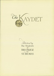 Page 7, 1928 Edition, St Thomas Military Academy - Kaydet Yearbook (Mendota Heights, MN) online yearbook collection