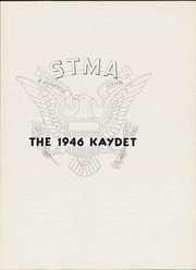 Page 7, 1946 Edition, St Thomas Military Academy - Kaydet Yearbook (Mendota Heights, MN) online yearbook collection
