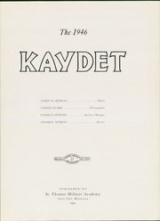 Page 9, 1946 Edition, St Thomas Military Academy - Kaydet Yearbook (Mendota Heights, MN) online yearbook collection
