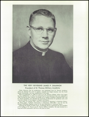 Page 15, 1957 Edition, St Thomas Military Academy - Kaydet Yearbook (Mendota Heights, MN) online yearbook collection