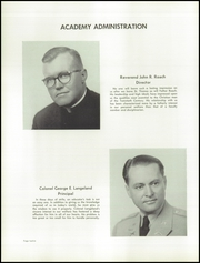 Page 16, 1957 Edition, St Thomas Military Academy - Kaydet Yearbook (Mendota Heights, MN) online yearbook collection