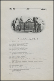 Page 14, 1920 Edition, Austin High School - Austinian Yearbook (Austin, MN) online yearbook collection