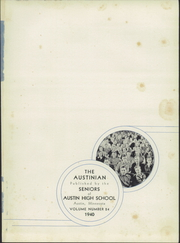 Page 5, 1940 Edition, Austin High School - Austinian Yearbook (Austin, MN) online yearbook collection