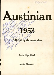 Page 5, 1953 Edition, Austin High School - Austinian Yearbook (Austin, MN) online yearbook collection