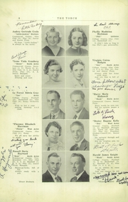 Page 10, 1938 Edition, Acton Boxborough Regional High School - Torch Yearbook (Acton, MA) online yearbook collection