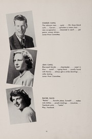 Page 14, 1951 Edition, Weston High School - Key Yearbook (Weston, MA) online yearbook collection