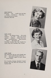 Page 15, 1951 Edition, Weston High School - Key Yearbook (Weston, MA) online yearbook collection