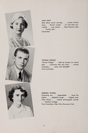 Page 16, 1951 Edition, Weston High School - Key Yearbook (Weston, MA) online yearbook collection