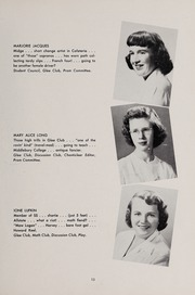 Page 17, 1951 Edition, Weston High School - Key Yearbook (Weston, MA) online yearbook collection