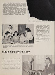 Page 11, 1960 Edition, Weston High School - Key Yearbook (Weston, MA) online yearbook collection