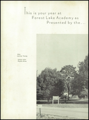 Page 6, 1955 Edition, Forest Lake Academy - Mirror Yearbook (Apopka, FL) online yearbook collection