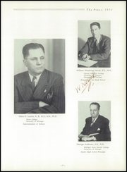Page 11, 1952 Edition, Traverse City High School - Pines Yearbook (Traverse City, MI) online yearbook collection