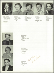 Page 12, 1952 Edition, Traverse City High School - Pines Yearbook (Traverse City, MI) online yearbook collection