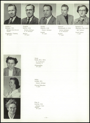 Page 16, 1952 Edition, Traverse City High School - Pines Yearbook (Traverse City, MI) online yearbook collection