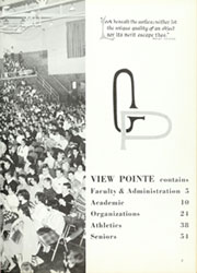 Page 7, 1962 Edition, Grosse Pointe High School - View Pointe Yearbook (Grosse Pointe, MI) online yearbook collection